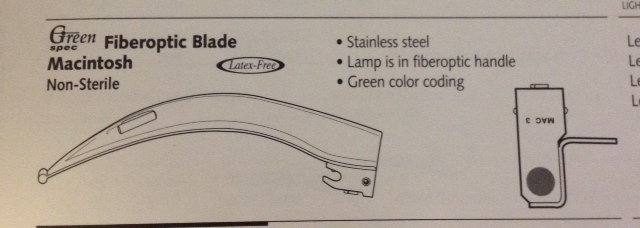 Blade, Emerald Fiberoptic, Mac 1 Image