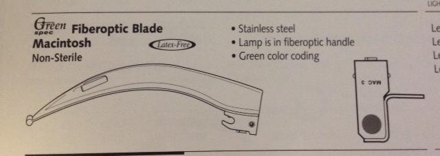 Blade, Emerald Fiberoptic, Mac 3 Image