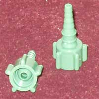 Connector, Barb, Green Image