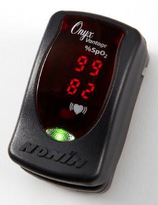 Pulse Oximeter, Finger, Onyx Image